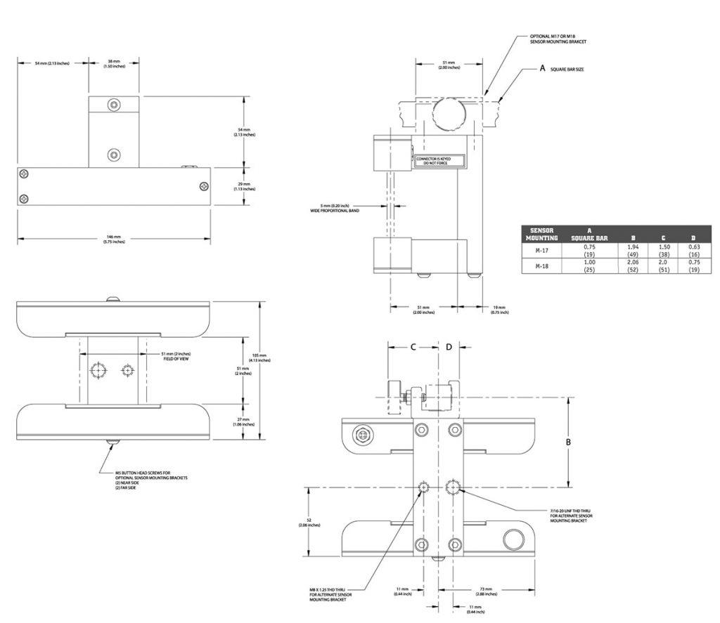 Схема датчика SE30