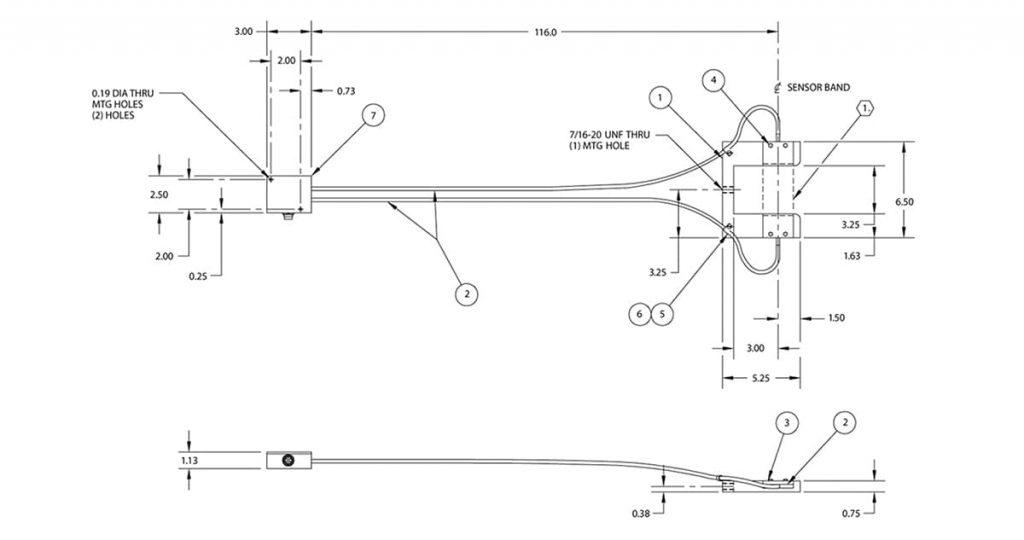 Схема датчика SE32